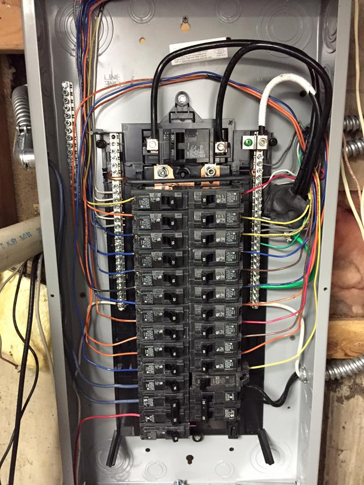 Electrical Wiring Service Panel Http Wwwayerforcecom